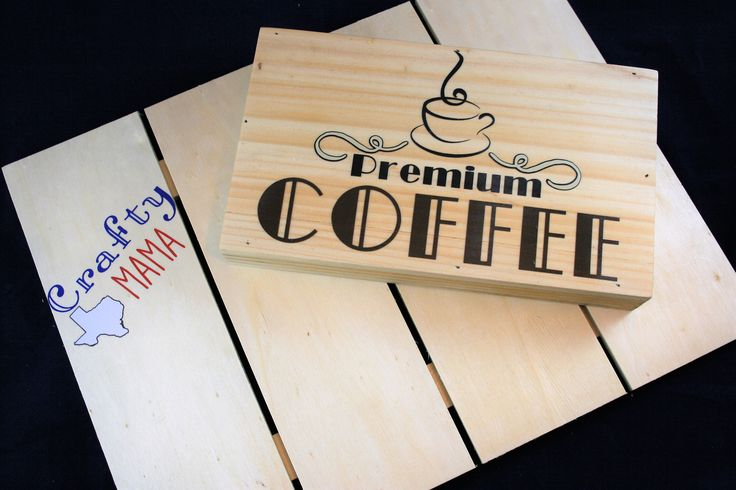 A personal favorite from my Etsy shop https://www.etsy.com/listing/533468552/premium-coffee-vinyl-wood-sign-decor