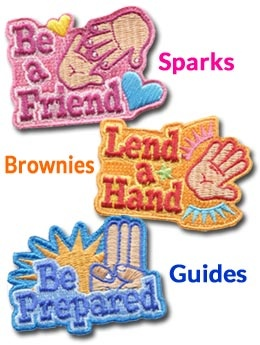 e-patches and crests is my favourite site for ordering badges for my girls! I highly recommend this site!