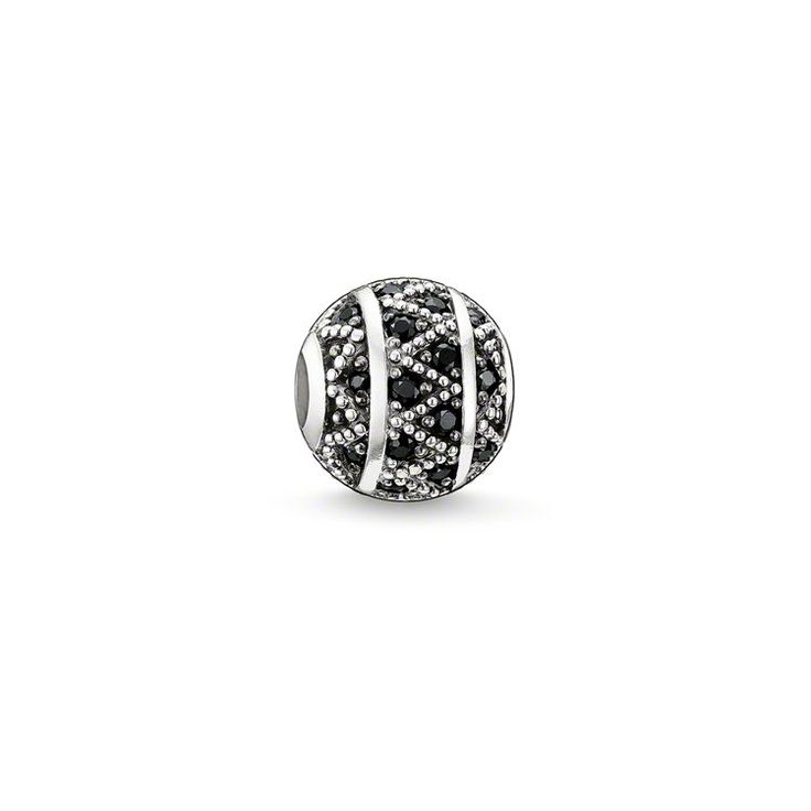 bead zigzag – Beads – Sterling Silver – THOMAS SABO