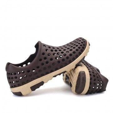 Brown Clogs Beach Shoes