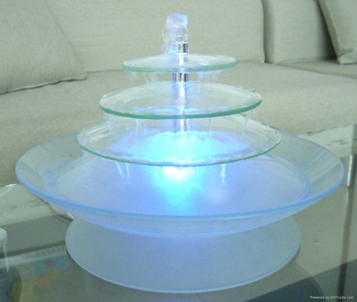 17 best images about fountains are flowing on pinterest for Homemade tabletop water fountain