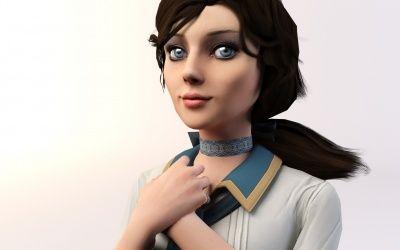 Wallpaper Girl Elizabeth in Bioshock Infinite Game HD Background,Desktop Wallpapers,Photos,Pictures