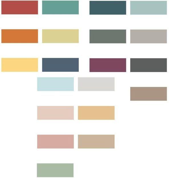 Las 25 mejores ideas sobre habitaciones verdes azules en - Paleta colores pintura paredes ...