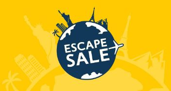 Escape Sale - Enjoy savings worldwide! Cheap Holiday Deals with Expedia at http://tidd.ly/3cd988bc