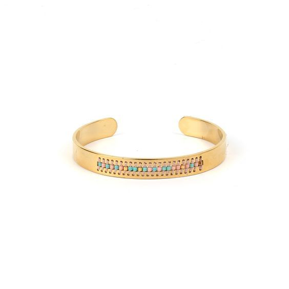 bracelet jonc femme tendance  #braceletmanchette