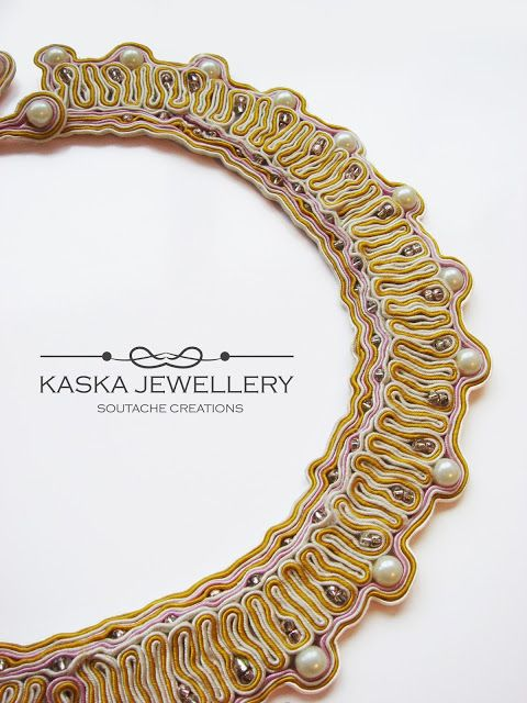 Little #baroque, soutache collar
