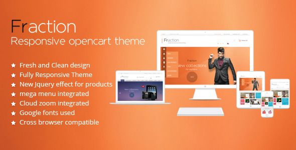 Discount Deals Fraction - Multi-Purpose Responsive Opencart Themewe are given they also recommend where is the best to buy