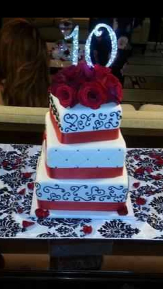 Wedding Cake Retro