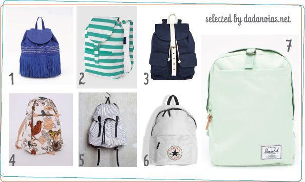 Vuelven las mochilas como accesorio de #moda para esta  temporada Primavera-Verano/2012, vuelven los bolso-mochilas. http://www.dadanoias.net/2012/04/13/un-bolso-mochila-para-la-primavera/: Accessories 3, Las Mochilas, Carteras Mochilas, Como Accesorio, Los Bolso Mochilas, Backpack, Spring, Accessory, Mochilas Como