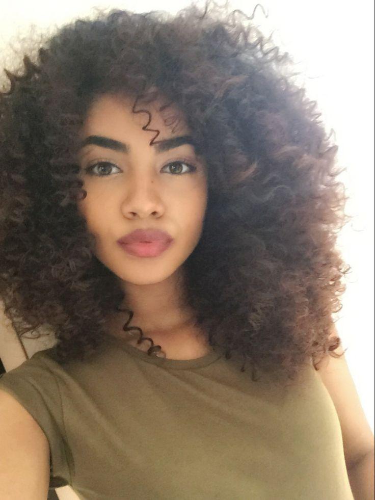Natural hair styles Curly hair styles Hair