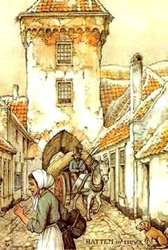Hattem in The Nethederlands ~ by Anton Pieck