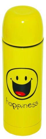 SmileyWorld Isotherm Bottle Yellow~