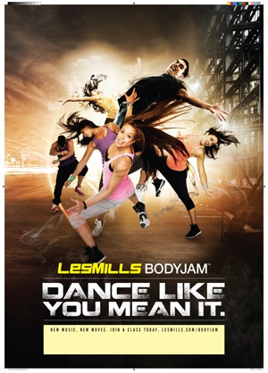 BODYJAM® is the cardio workout where you are free to enjoy the sensation of dance. #lesmills