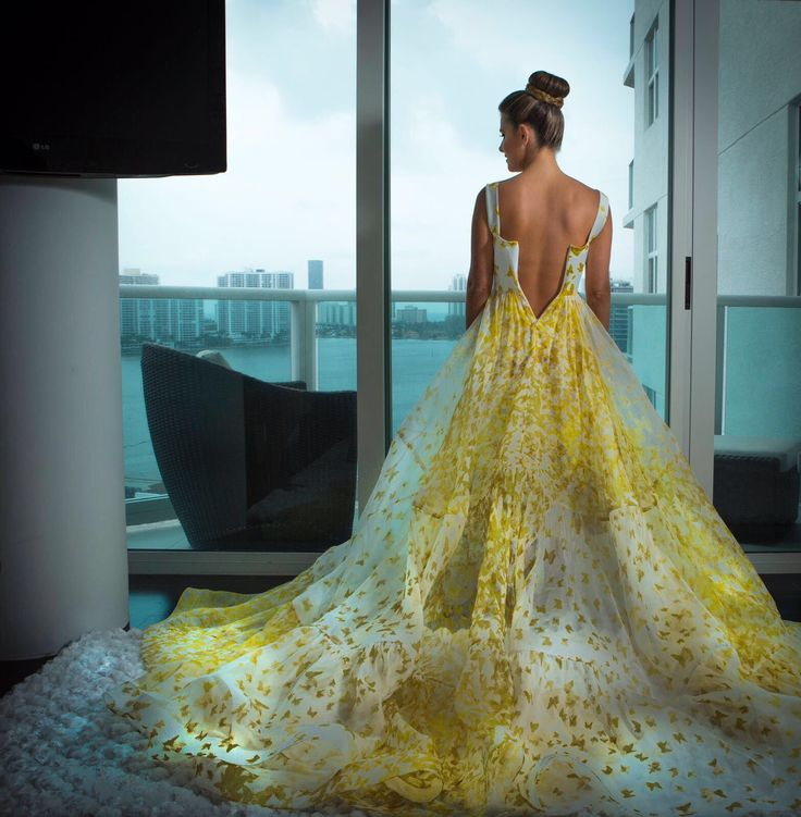 Mariposas dress SS17