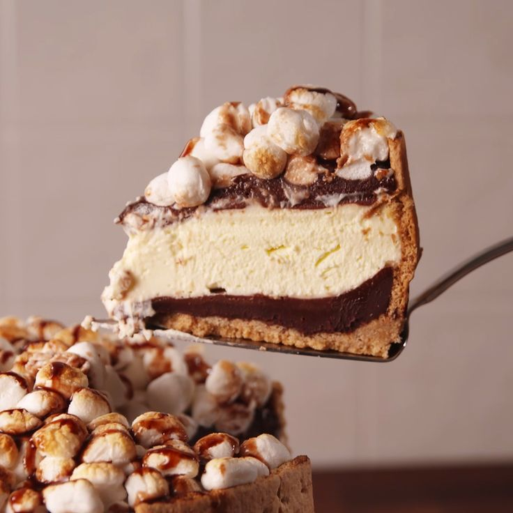 S'mores make everything better, even cheesecake.
