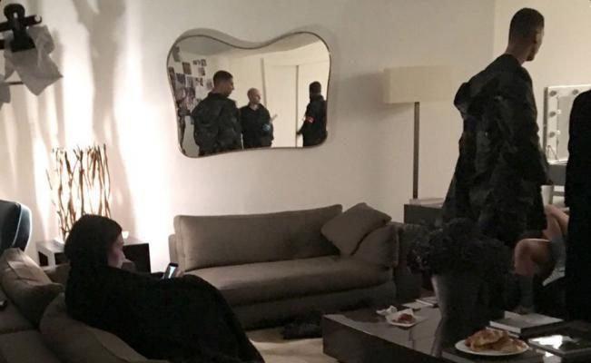 Filtran video de momentos después del asalto a Kim Kardashian