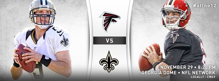 Falcons vs. Saints #RiseUp