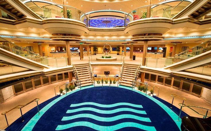 Monarch Cruises - Interior Design - Pullmantur - Instagram below @seayachtbeauty