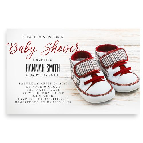 40 best cheap baby shower invitation images on pinterest beautiful red baby shoes baby shower invitationred sneakers baby shoes red baby shoesconverse baby shower jordan baby boy baby shower invitation cheap baby filmwisefo