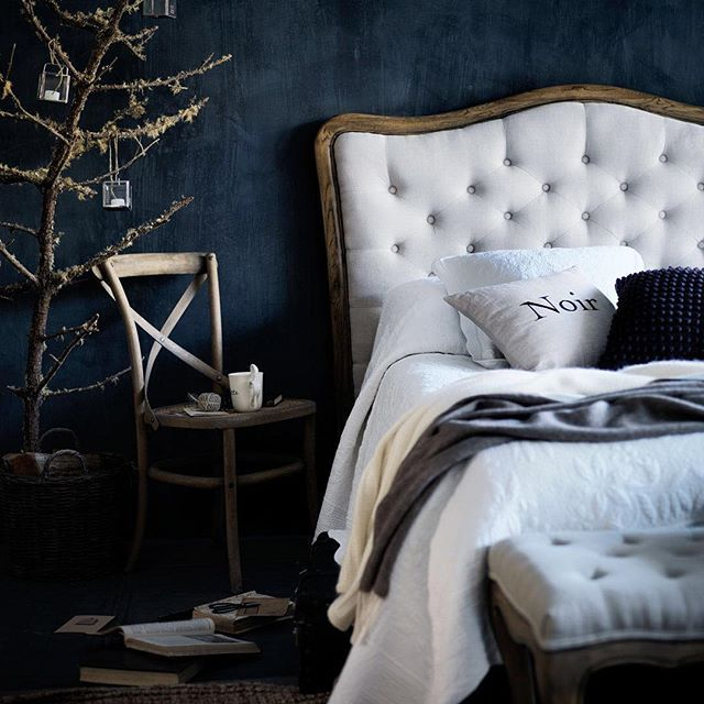 { B E D R O O M S } You deserve a beautiful bedroom.  Your bedroom is a place to relax and unwind at the end of a long day.  #navyblue #classicstyle #beautifulbedroom #hamptonsstyle #frenchcountry #neutrals #bedhead #whitebedding #bedroominspiration #blueamdwhite #frenchdressing #french_dressing_furniture #frenchprovincial #frenchprovincialbedrooms