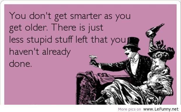 Less stupid stuff