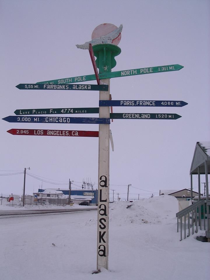 Barrow is the Northernmost American City