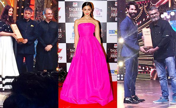 Big Zee Entertainment Awards 2017 winners list: Aishwarya Rai Bachchan, Alia Bhatt, Shahid Kapoor take home the trophies #FansnStars