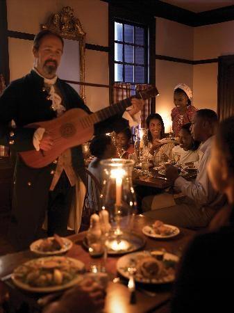 Josiah Chowning's Tavern, Williamsburg, VA Delightful place. Very charming!