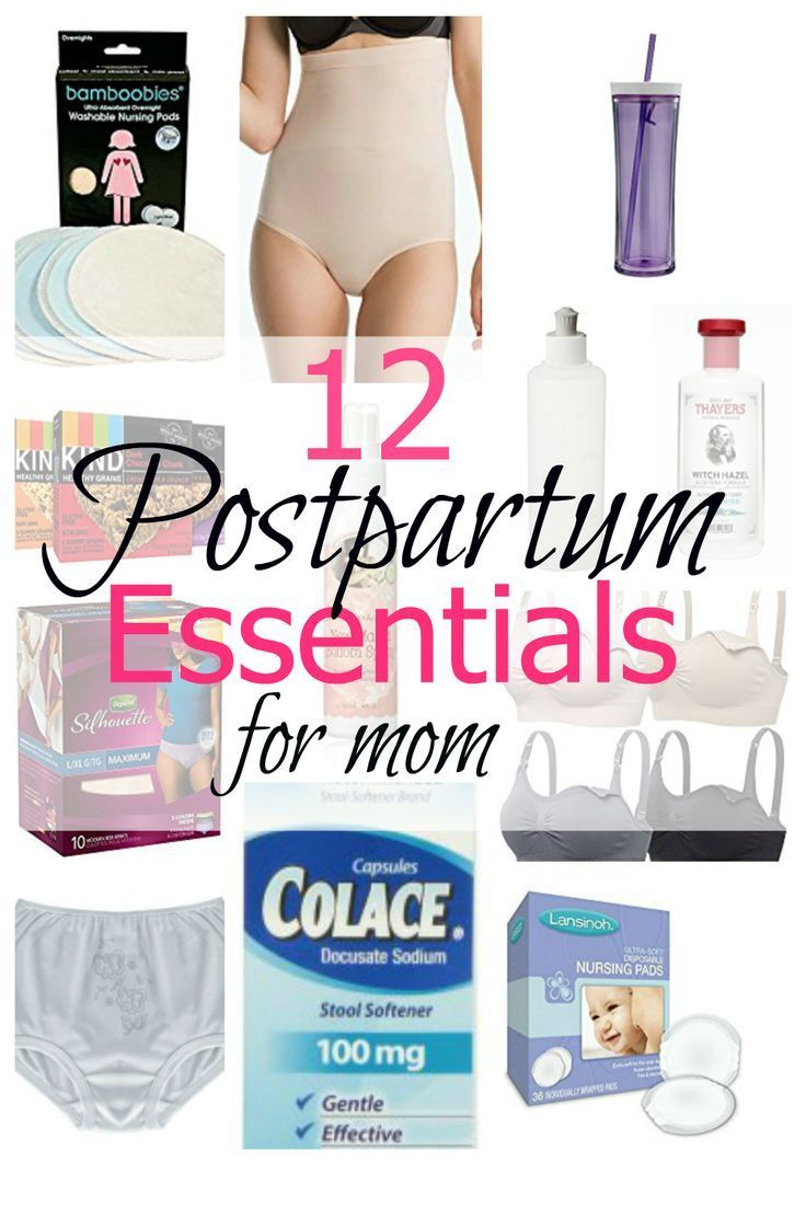 Everything moms need for their postpartum recovery. Underwear, girdle, healing tips, care for yourself with this useful kit.