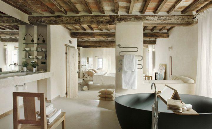 The Hotel at Monteverdi, Tuscany, Italy.