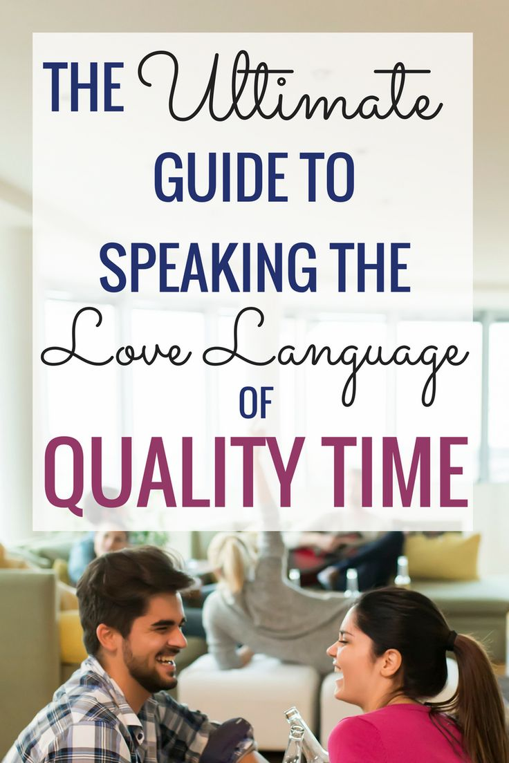 Quality Time Love Language Guide - Marriage Laboratory