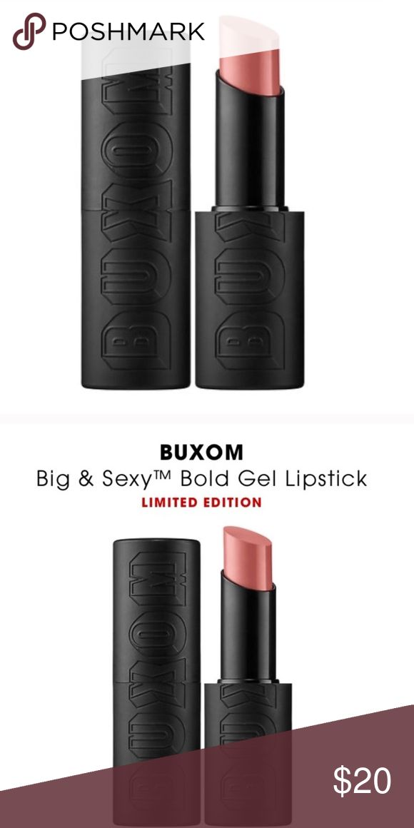 Buxom White Russian Lipstick Gel NIB Buxom White Russian Lipstick Gel NIB 💕What it is: A lightweight gel lipstick with bold, one-stroke color in matte and satin finishes.   What it does: Swipe lips with this vividly graphic, ultra-bold lipstick. It delivers intensely pigmented, one-stroke color in an ultra-lightweight gel formula. Featuring moisturizing matte and satin finishes, it leaves lips with a modern, daring look.   What it is formulated WITHOUT: - Parabens 🚨 price firm buxom Makeup…