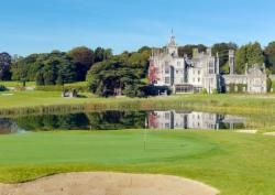County Limerick: Adare Manor Castle resort.Closed until August 2017