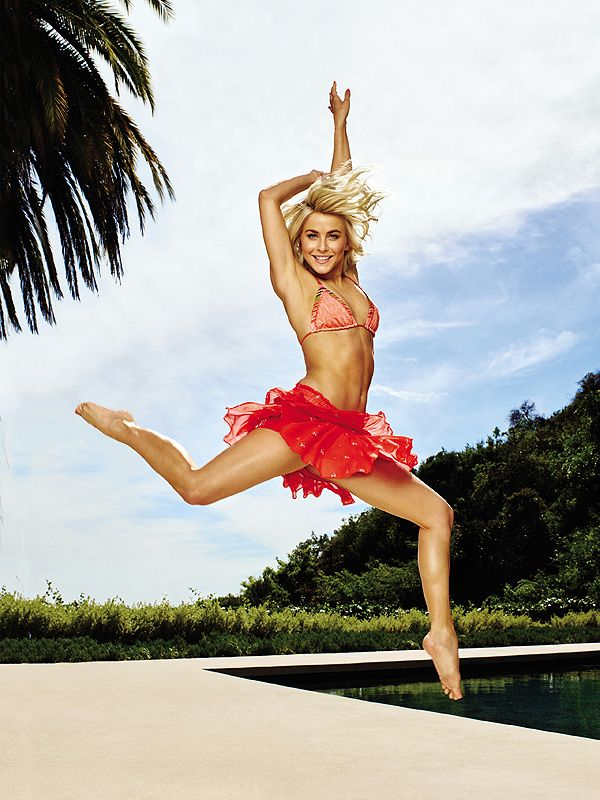 Julianne Hough Shares Her Diet, Eating and Exercise Tips