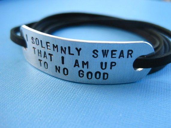 I'm not kidding, i want this: Wraps Bracelets, Harry Harry, Style, Solemn Swear, Maps, Harry Potter Bracelets, Mischief Management, Harry Potter Jewelry, Harry Potter Quotes