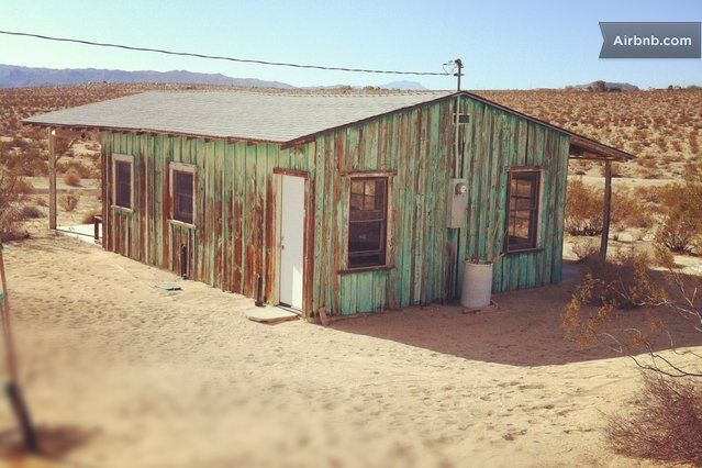 Joshua Tree Homesteader Cabin in Joshua Tree