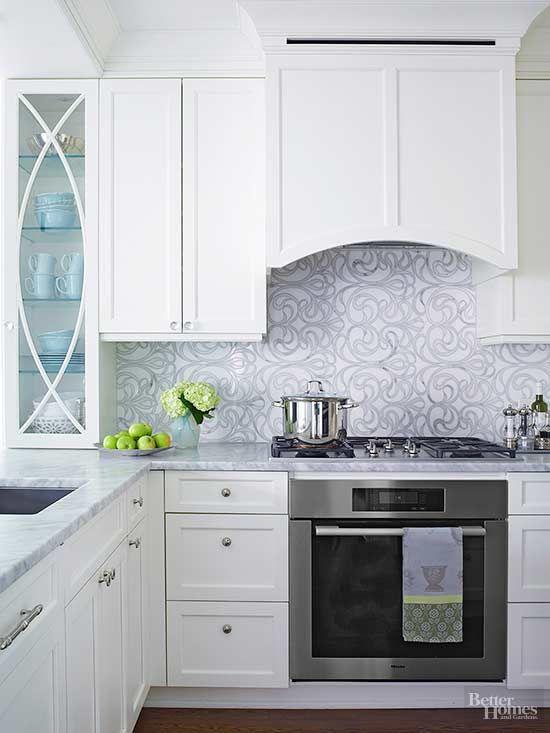 about kitchens on Pinterest  Kitchen backsplash, Kitchen cabinet