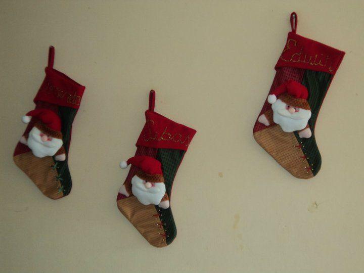 boticas  de navidad juego de pared