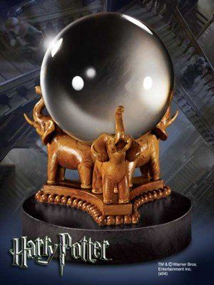 Authentic Divination Crystal Ball Replica from Harry Potter movies. Created by Noble Collection @ niftywarehouse.com #NiftyWarehouse #Nerd #Geek #Entertainment #TV #Products