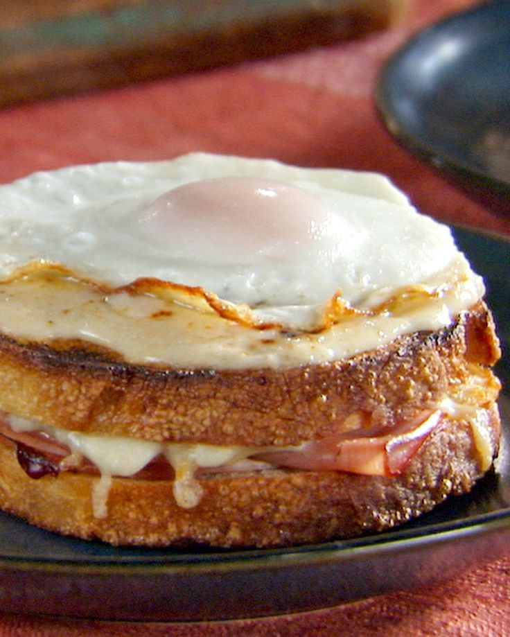 This classic ham sandwich from France is drizzled with bechamel sauce and topped with fried eggs.