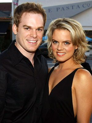 Michael C. Hall and Amy Spanger