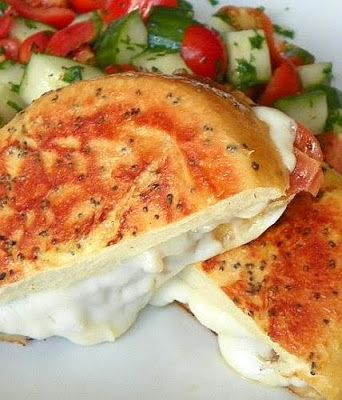 47 best donna hay images on pinterest donna hay recipes dessert peppery prosciutto and mozzarella french toast donna hay ccuart Images