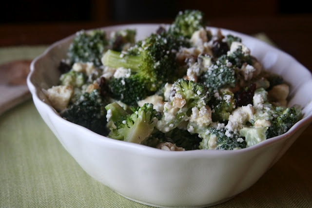 Broccoli-Raisin Salad by espressoandcream