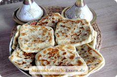 Gefüllte Msemen | Marokkanisch Essen