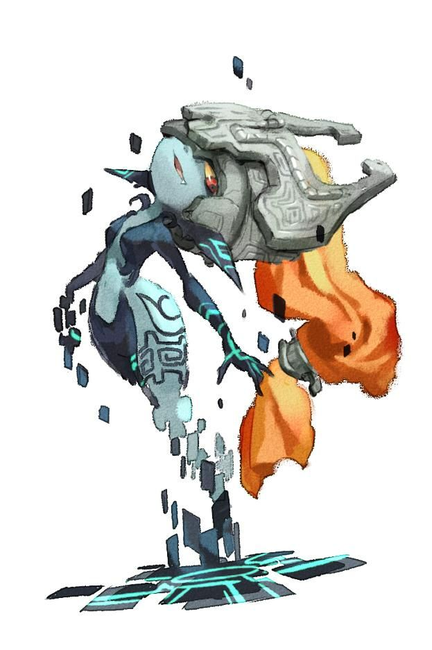 Teleporting Midna