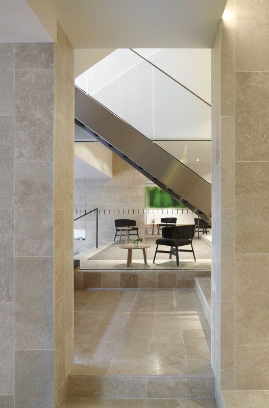 Foyer. The Claremont. Bird de la Coeur Architects Interiors Hassell Photo Dianna Snape