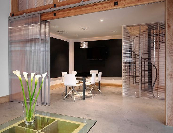 Walls seem so permanent and drastic compared to sliding doors or sliding room dividers...The wonderful advantage of having sliding room dividers is that th