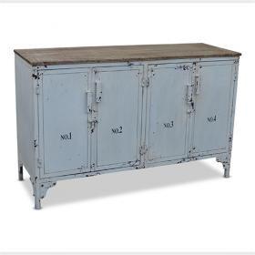 White Vintage Side Board | Loft Furniture