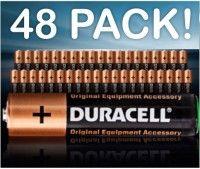 48 Pack of Trusted Duracell Batteries - Enjoy Longer Lasting Power