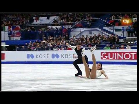 2017 Euros Ice Dance FD Group 4 Full Version - YouTube